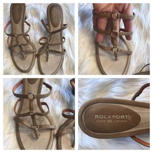 ❤️SUPER CUTE ROCKPORT Presentations sandals